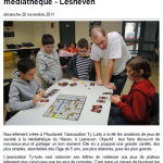 Ouest-France 20/11/2011